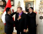 "Classic Travel - News - PRESIDENT OF PERU AWARDS JERZY ""YUREK"" MAJCHERCZYK ""FOR OUTSTANDING MERITS"" FOR PERU"
